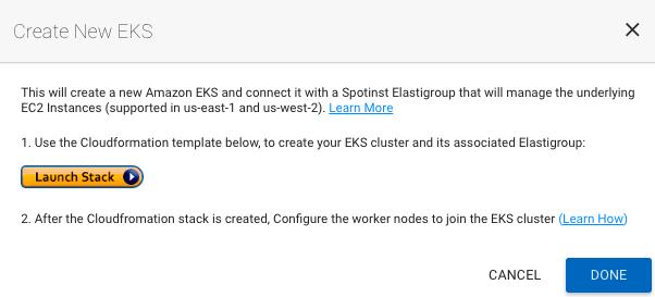 Getting Started with Amazon EKS on Elastigroup | Spotinst