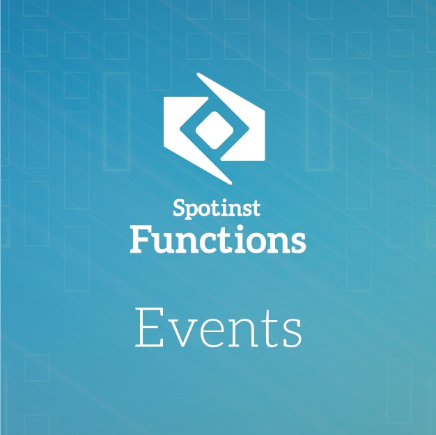 Serverless Spotinst Events