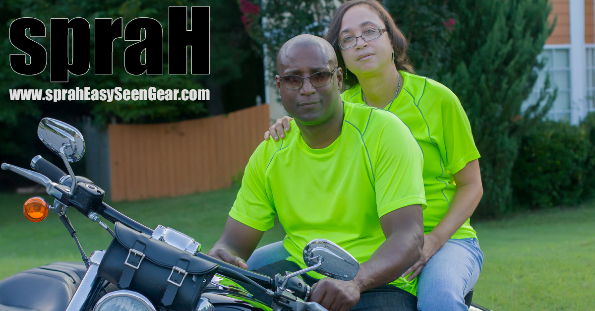 couple posing with spraH Gear