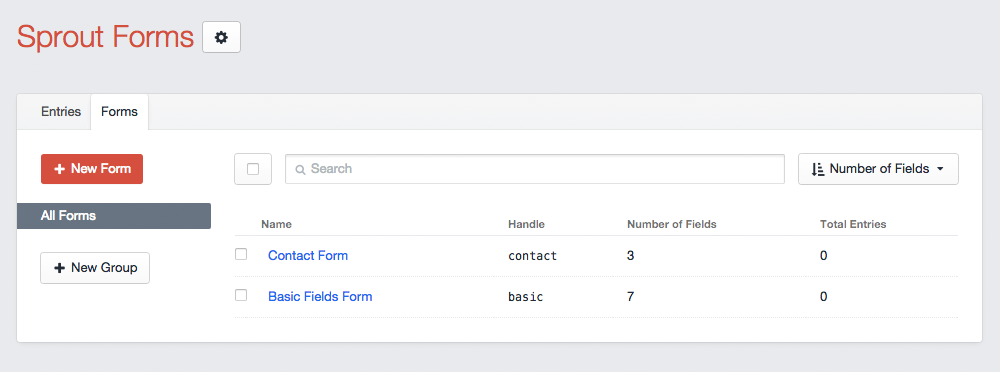 Manage Multiple Forms