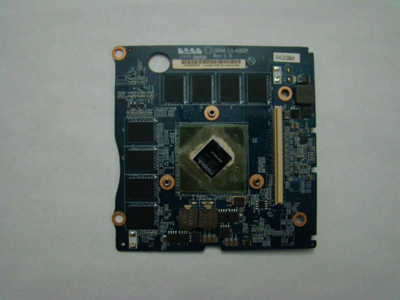 Toshiba Qosmio X305 Video Card Graphics Module K000064080 LS-4302P OEM GPU Board