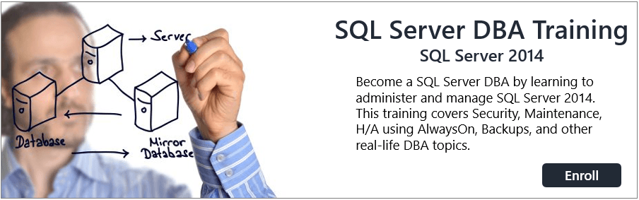 SQL DBA Training  |