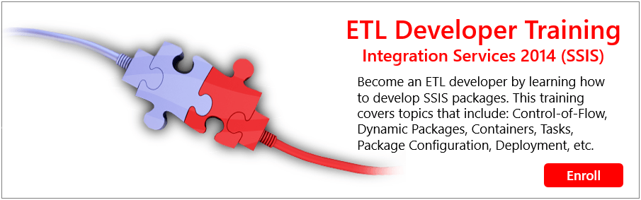 ETL Developer Training  |
