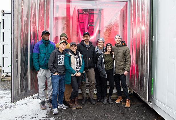 Square Roots' Season 3 Next-Gen Farmers: Daniel Silvia, Micah Helle, Eli Zimmer, Gianna Costa, Brandon Brones, Jacque Kirila, Emma Coz, and Colin Petry.