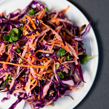 Apple Basil Slaw