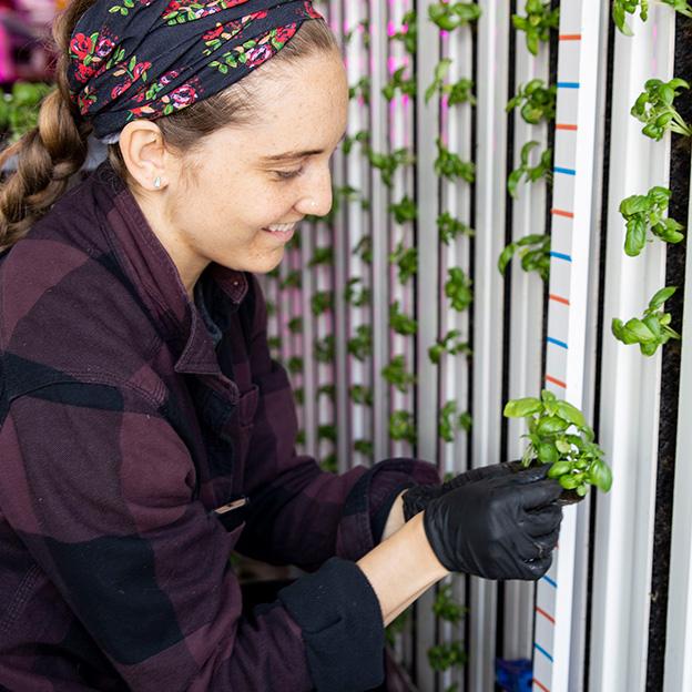 Square Roots Next-Gen Farmer Gianna Costa