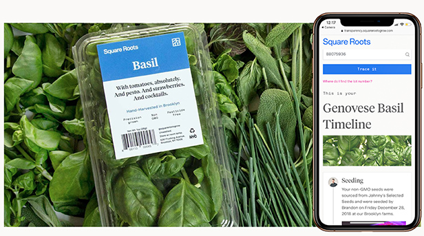 Scan the QR code on every Square Roots package to see where your food comes from.