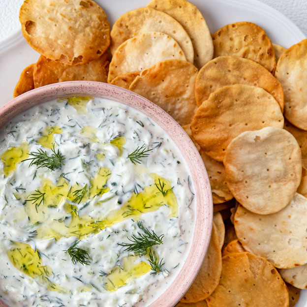 Square Roots' Ultimate Tzatziki with Dill
