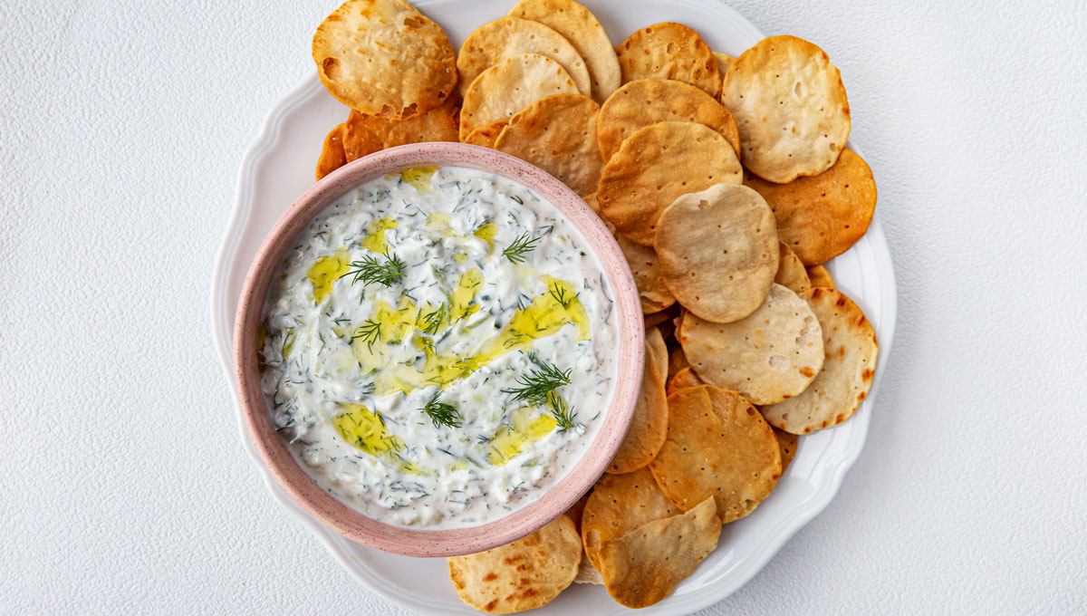 Square Roots' Ultimate Tzatziki Dip with Dill
