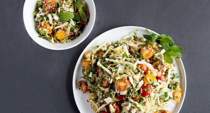 Square Roots' Late Summer Tabbouleh