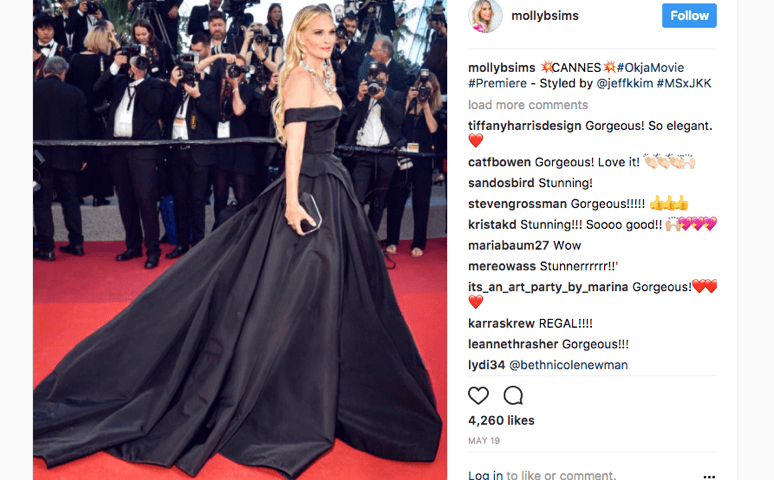 Molly Sims stuns Cannes Film Festival in the Perfect Waist