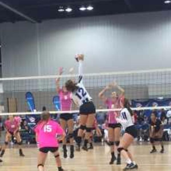 Ashley McDonald #12 Elevation Volleyball
