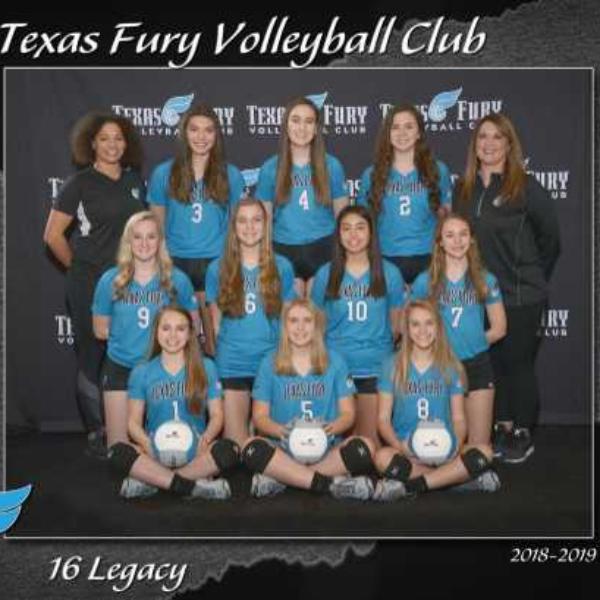 Texas Fury Volleyball Club