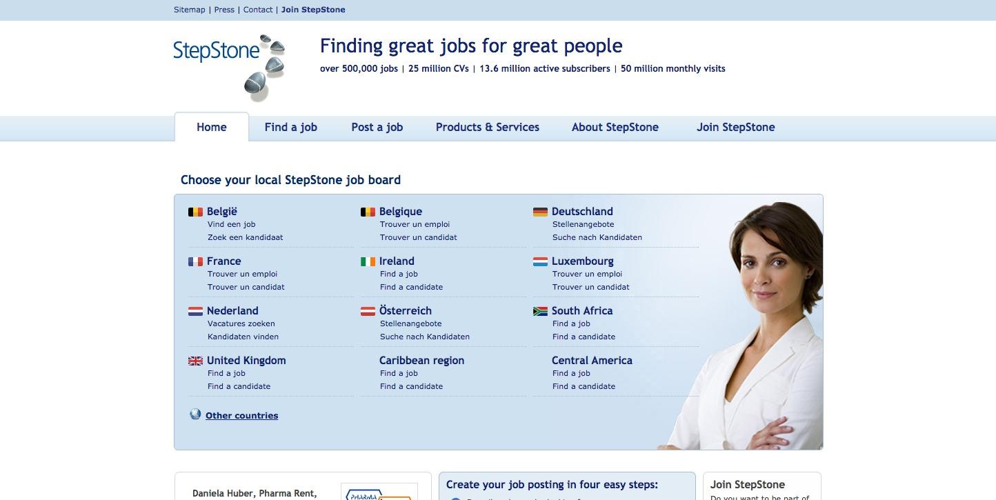 stepstone smartrecruiters marketplace screenshots