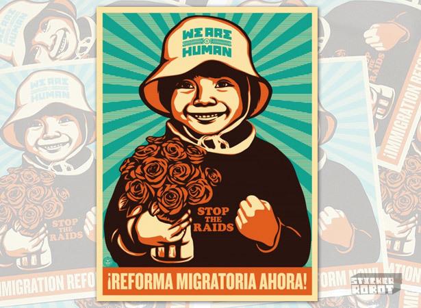 Immigration reform boy