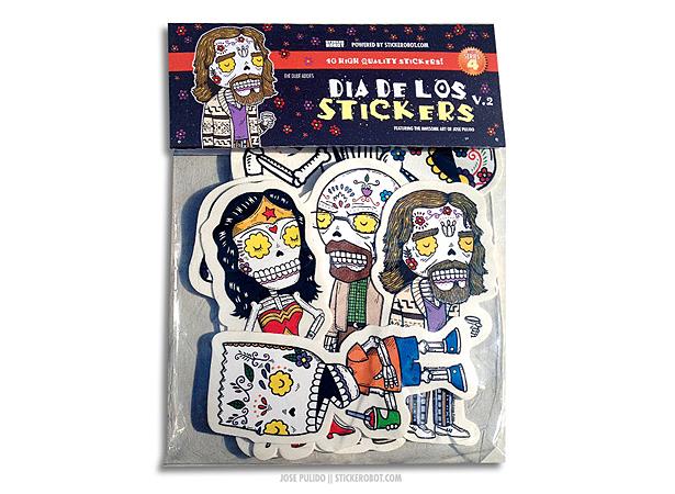 Dia de los stickers