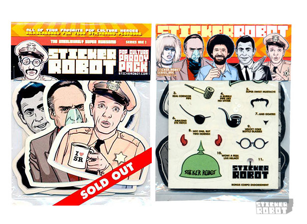Pop culture sticker packs pop culture parody 2
