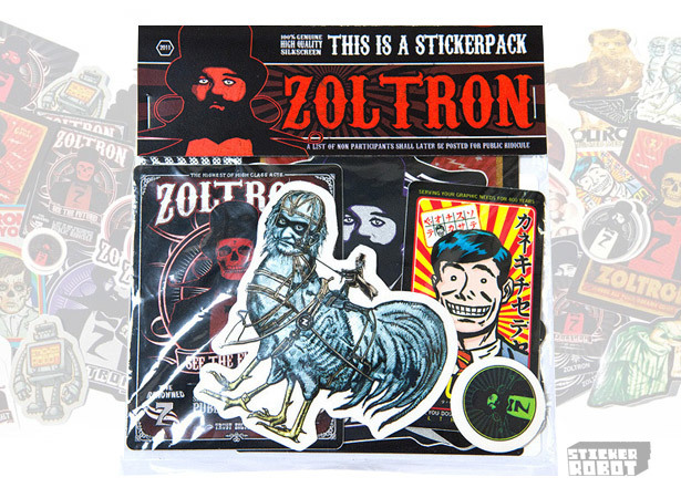 Zoltorn sticker pack img1