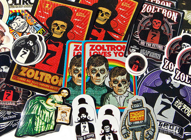 Zoltron sticker pack img3