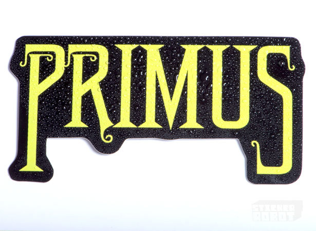 Band stickers primus