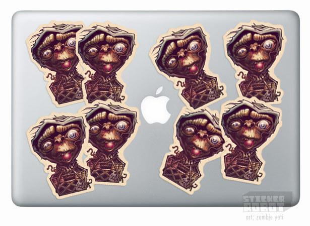 Laptop sticker printing