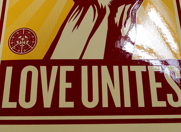 Defend equality obey silkscreen stickers