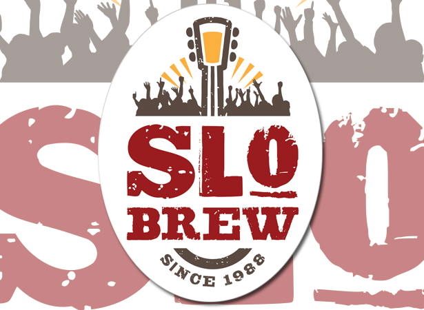 Slow brew sticker label