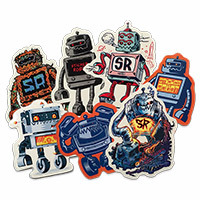 Sticker Robot Artist Pack