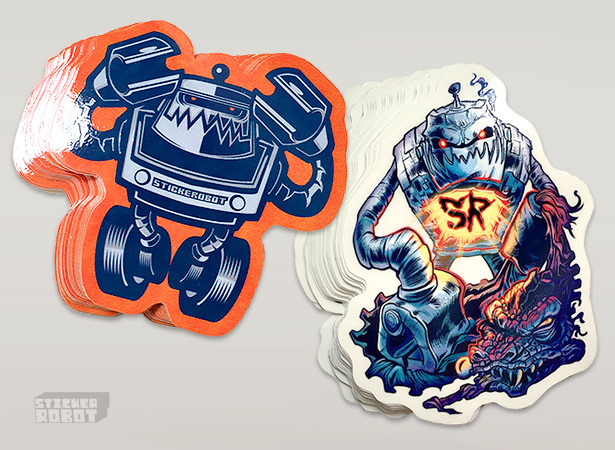 Custom stickerobot sticker packs 1