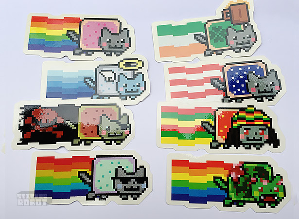 Nyan ca customt sticker pack