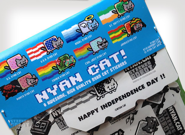 Nyan stickers