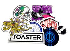 Custom digital stickers
