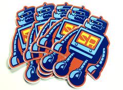 Sticker robot digtal stickers