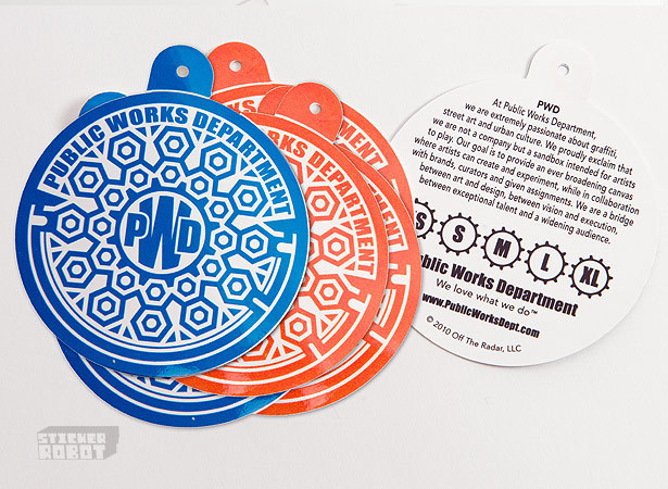 Hang Tag Stickers