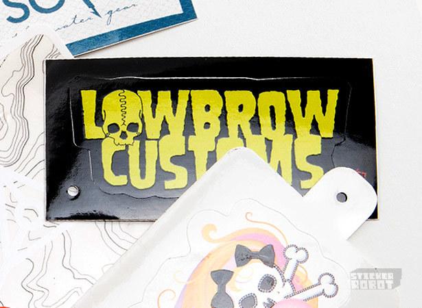 Custom hangtag stickers sticker hangtag villen vinyl sticker hang tag