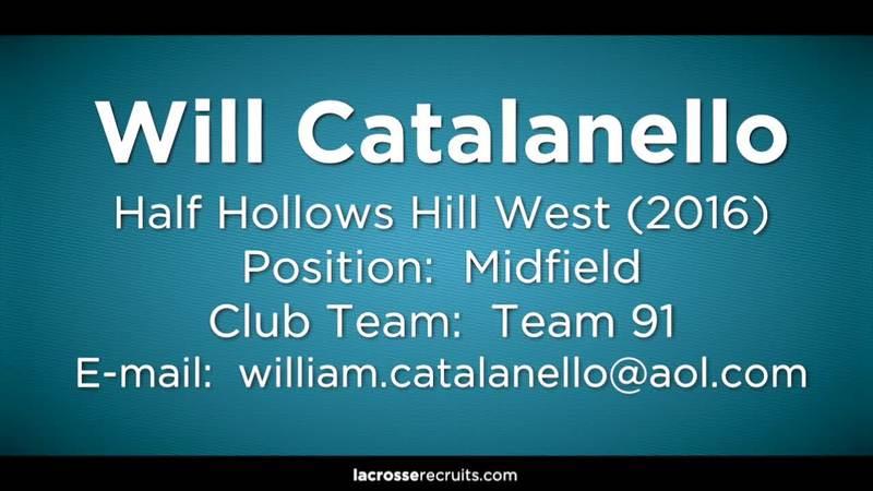 Will Catalanello | SportsRecruits