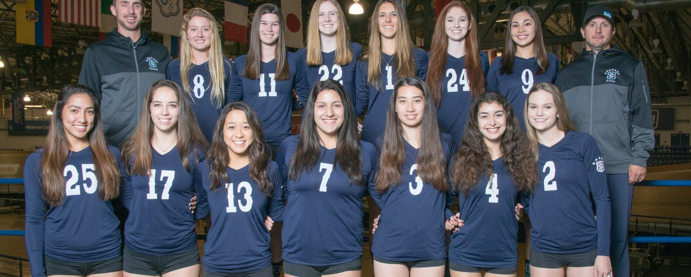 SCVC girls volleyball team