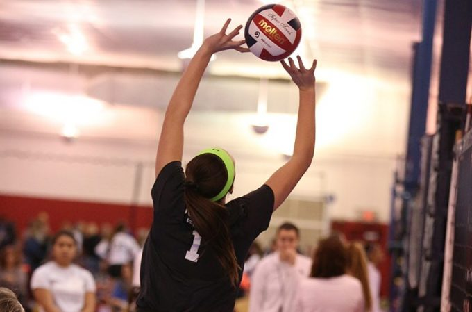 Spooky Nook Volleyball Academy player