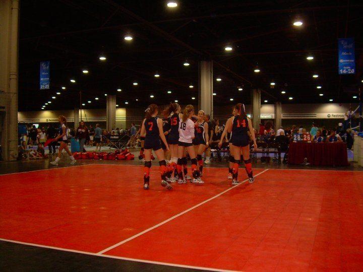 K2 Volleyball team