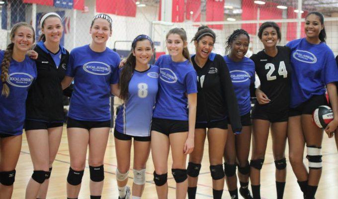 So-Cal Juniors Volleyball team