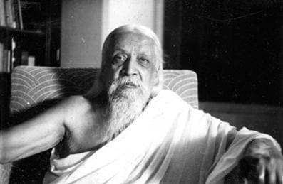 महर्षि श्री अरविंद का चित्र सन १९५०