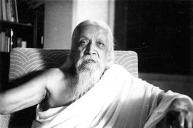 महर्षि श्रीअरविंद का चित्र