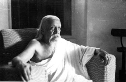 महर्षि श्री अरविंद का चित्र
