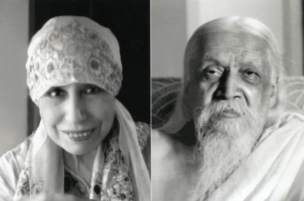 Sri Aurobindo and The Mother of Sri Aurobindo Ashram Puduchrry