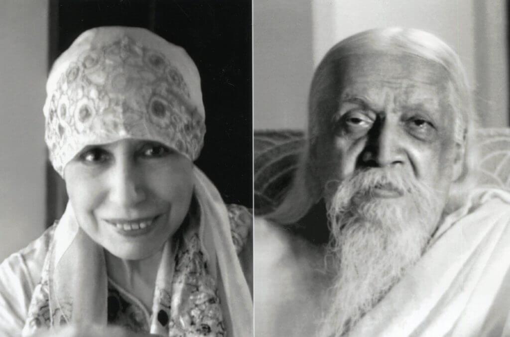 Sri Aurobindo and The Mother of Sri Aurobindo Ashram Puduchrry