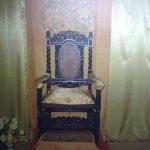 श्रीअरविंद आश्रम की श्री माँ की कुर्सी