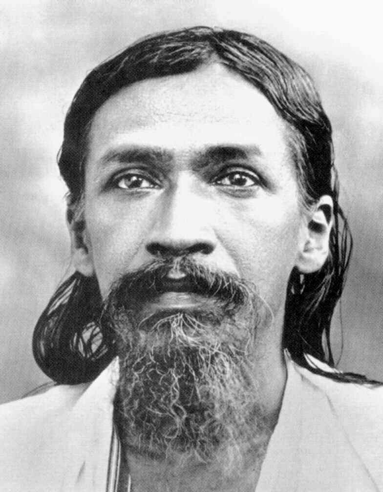 महायोगी महर्षि श्रीअरविंद का चित्र