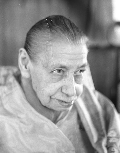 Finding the Mother of Sri Aurobindo Ashram