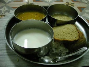 Sri Aurobindo Ashram Dining Hal Meals