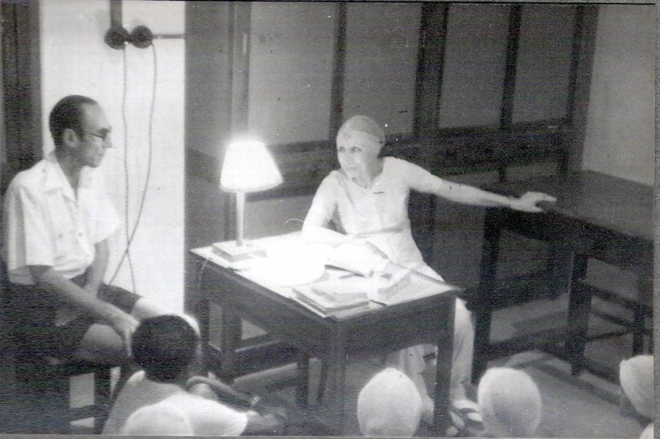 The Mother Mirra Alfassa of Sri Aurobindo Ashram